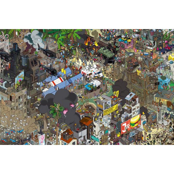 Plakat - City