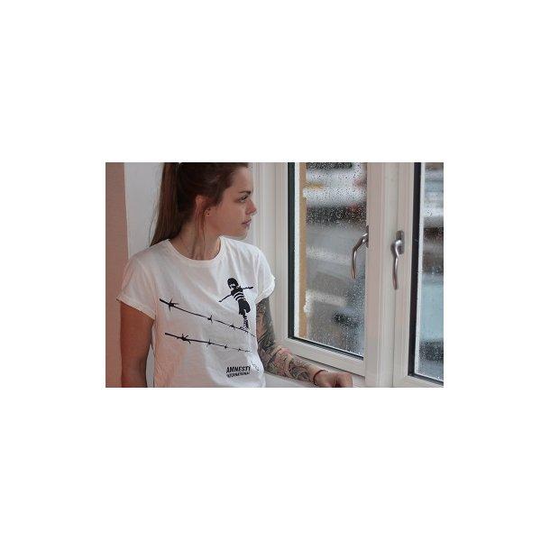 T-shirt (hvid) - Girl