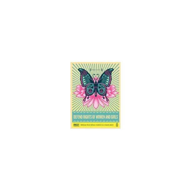 Plakat - Sommerfugl